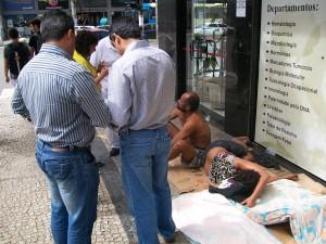 SDS intensifica abordagem social a cidad+úos de rua no Bairro S+úo Mateus